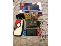 Nintendo switch &. 3 games