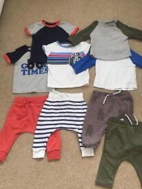 Boys next clothes 3-6 months