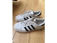Adidas Superstar shoes UK size 8.5