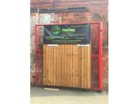 Wooden Fence Panels, New Verti Lap 6x6, In Nottingham £25.00