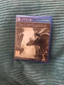The last guardian ps4 brand new and sealed