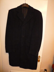 Wool coat, Gents - Marks and Spencer
