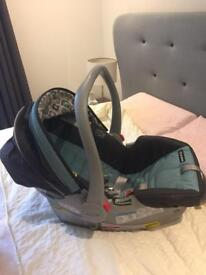 Travel system baby carrier
