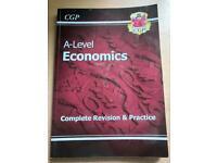 CGP A-Level Economics Complete Revision & Practice