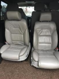 vw t5/t4 leather seats.