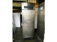 Foster Commercial 600 Litre Stainless Steel Single Door Commercial Freezer - Good Condition