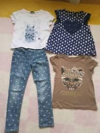4-6 year girls clothes bundle