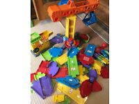 Vtech toot toot tracks and construction set