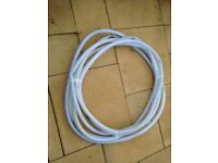 reinforced fish pond pipe 16 meters long never used bargain only £20