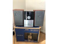Sony HiFi CD (MP3), DAB, Radio audio system