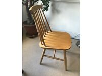 3 Dinning room chairs - FREE