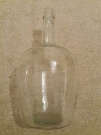 Large 5 L Unusual glass bottle