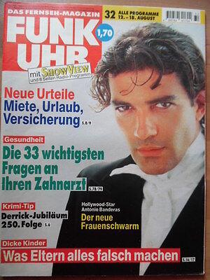 FUNK UHR 32 - 1995 5* TV: 12.-18.8. Antonio Banderas Derrick-Quiz online kaufen