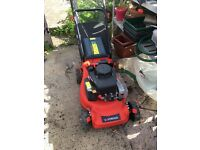 Petrol lawn mower.Only used for one season. Owner has moved into a flat so no longer needed.