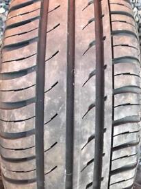 Continental Tyre 185/70 14 Vauxhall Wheel