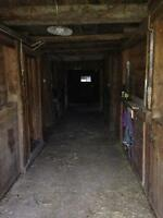 Horse Barn with Pasture and Riding Ring in Elgin, QC