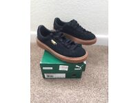 Brand New Puma Suede Trainers size 5.5