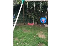 Little tikes swing set