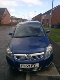 Zafira 2009, 1.8 , 7 seater Long MOT 11.2018 low mileage