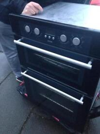 Built in double hotpoint oven