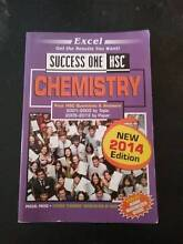 Excel Success One HSC Past Paper Book- Chemistry (2014 Edition) Finley Berrigan Area Preview