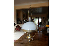 Hanging Oil Lamp - The Miller Lamp