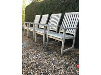 Four BillyOh garden chairs