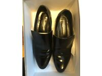 Jigsaw leather loafers