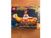 New unopened Lego Yellow Submarine set 21306