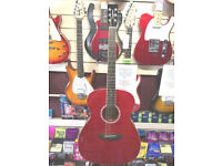 Tanglewood Liberty Acoustic Guitar in Red