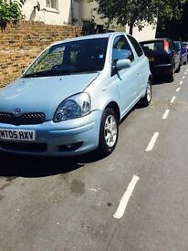 yaris 2005 automatic quick sale low miles 1 year mot