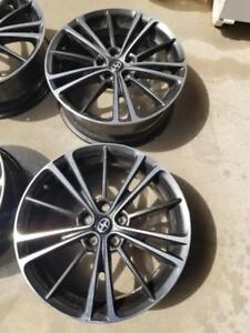LIKE BRAND NEW SCION  FRS FACTORY OEM 17 INCH ALLOY  WHEEL SET OF FOUR  NO CURB RASH.
