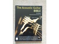 The Acoustic Guitar Bible includes 2 CDs