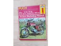 Puch sports mopeds haynes manual vs vc m 50 grand prix 1972 on