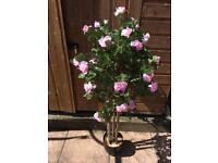 Artificial Rose Trees x 2