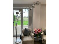 Luxury Chrome 5 light Floor lamp