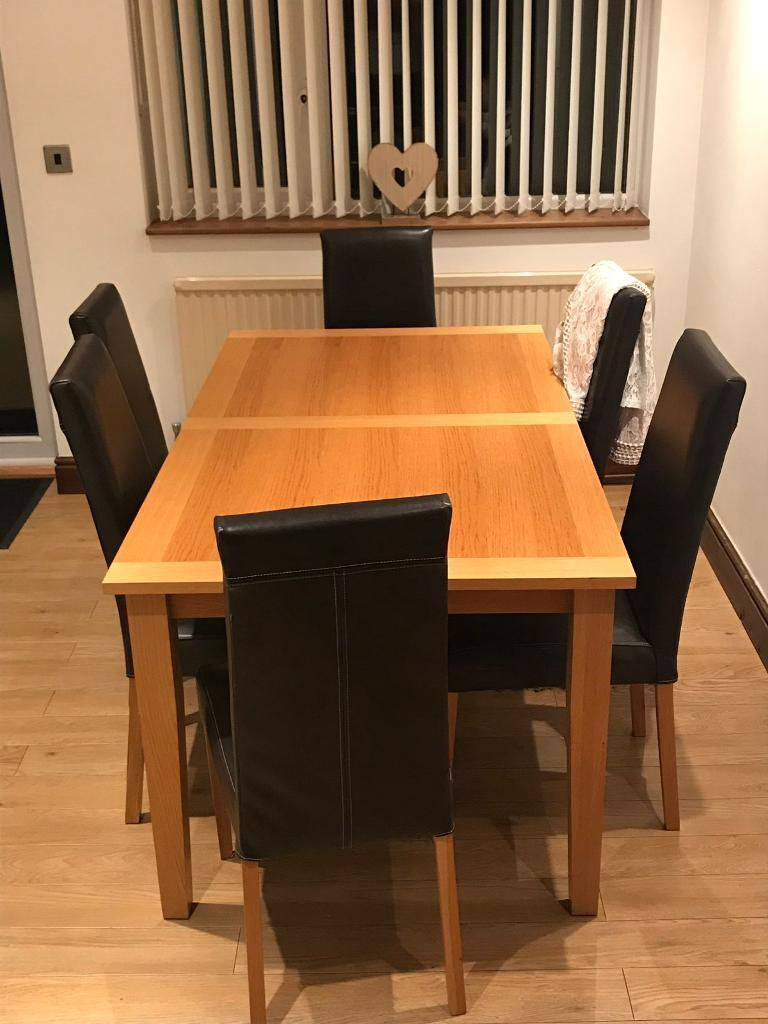 6 Seater Wooden Dining Table Huntington North Yorkshire