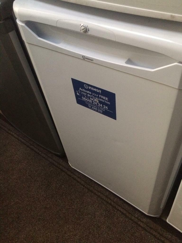 White indesit undercounter refrigerators good condition with guarantee bargain