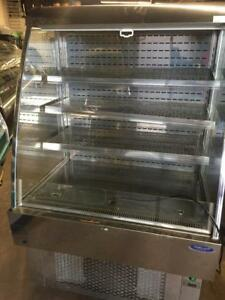 Grab and go  Open Air Refrigerated Display Show Case