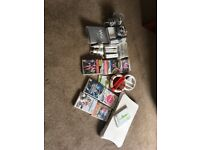 WII CONSOLE & FIT BOARD BUNDLE