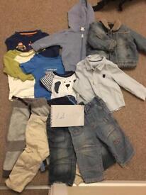 Two bags kids clothes bundle