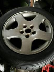 215/55/16 tyres and alloys