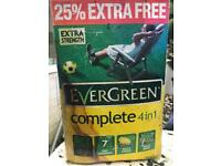 Free Evergreen complete 4 in 1 lawn care
