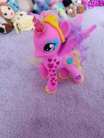 My little pony talking princess Cadence