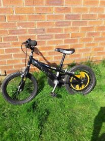 Childrens batman bike and bell. Good condition