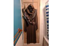 Jawa Costume Star Wars Fancy Dress Mens Costume Including Light Up Mask & Toy Blaster