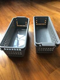 Grey Basket set of 4 (new)