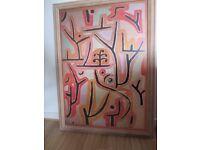 Paul Klee - Large Professionally Framed Print - Park in Lucerne