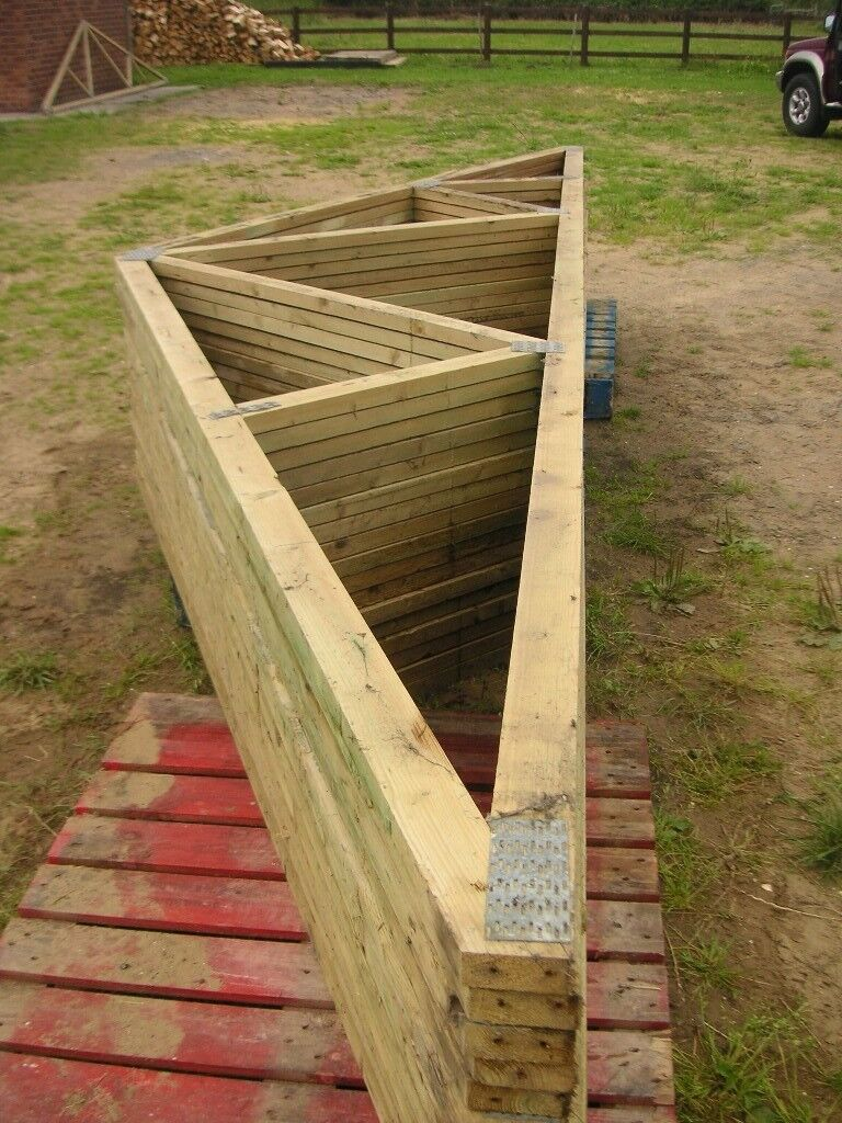 Roof Trusses - Perfect for Home Extension, Garage, Outbuilding, Stable Block etc.