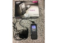Basic Samsung mobile phone E1120